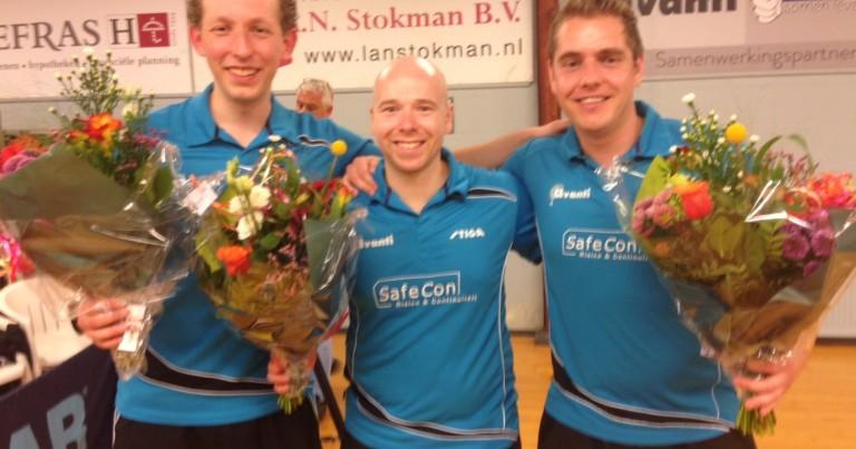 Eredivisie: Heren 1 kraait victorie, Dames 1 ten onder