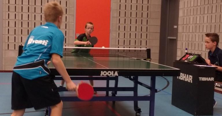 Tafeltennisweekend jeugd – competitie en NJM